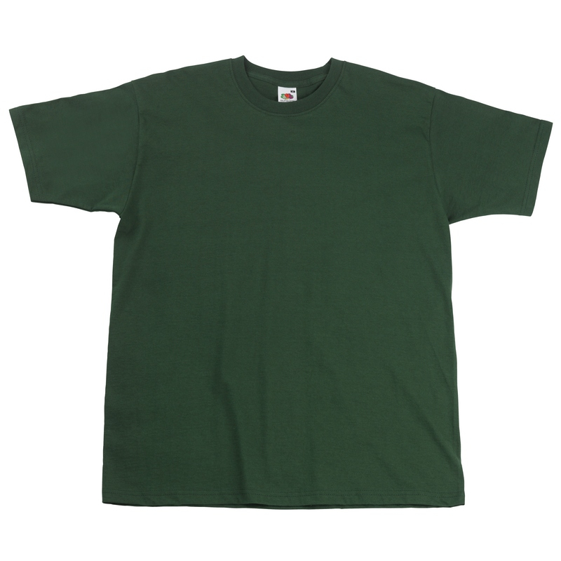 SS10 Super Premium T-Shirt Bottle Green Medium