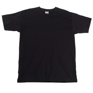 SS10 Super Premium T-Shirt Black Medium