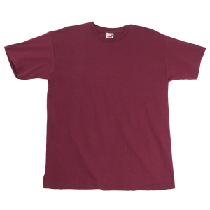 SS10 Super Premium T-Shirt Burgundy Small
