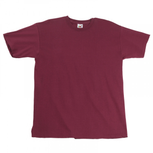 SS10 Super Premium T-Shirt Burgundy XL