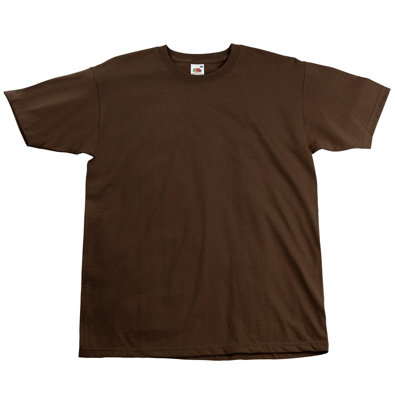 SS10 Super Premium T-Shirt Chocolate Large