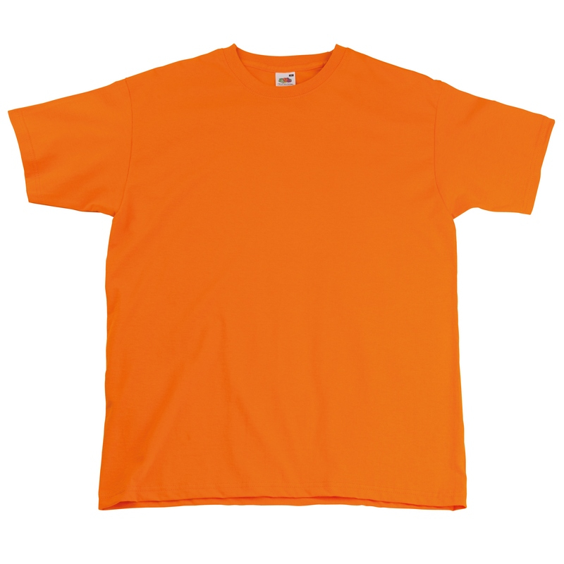 SS10 Super Premium T-Shirt Orange Medium
