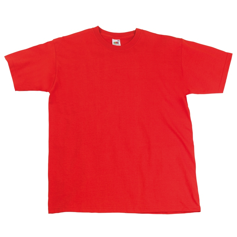 SS10 Super Premium T-Shirt Red Small
