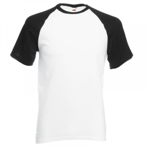SS31 Baseball T-Shirt White/ Black Small