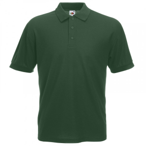 SS11 Polo Shirt Bottle Green Medium