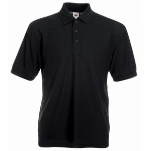 SS11 Polo Shirt Black 3XL
