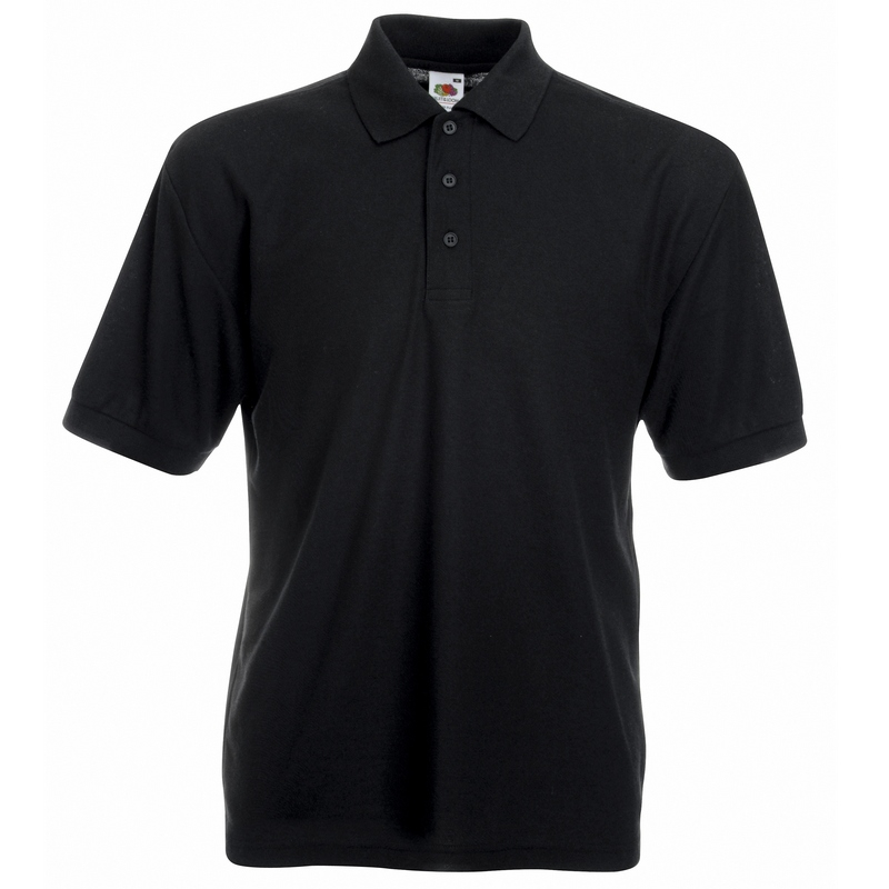 SS11 Polo Shirt Black Large
