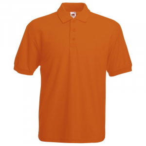 SS11 Orange Polo Shirt Large