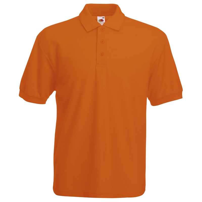 SS11 Orange Polo Shirt Small
