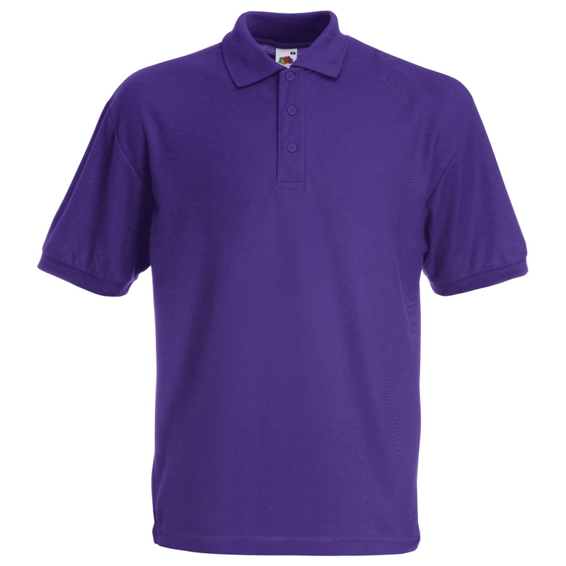 SS11 Polo Shirt Purple Large