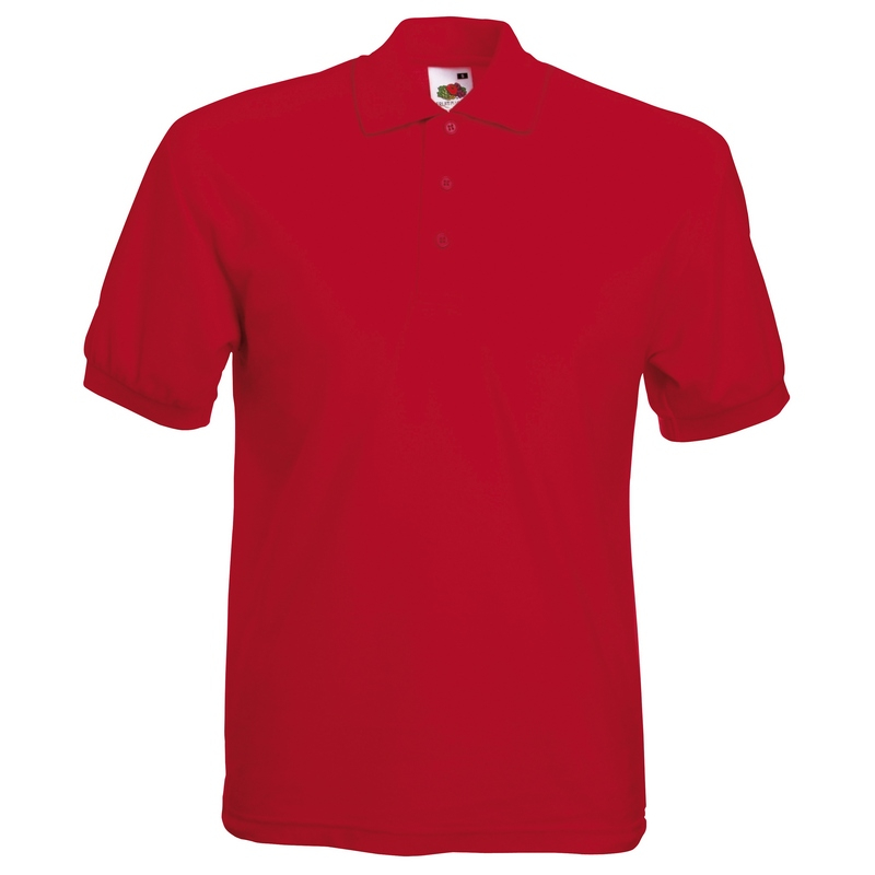 SS11 Polo Shirt Red Medium