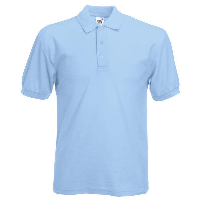 SS11 Polo Shirt Sky Blue 3XL