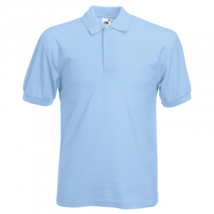 SS11 Polo Shirt Sky Blue Large