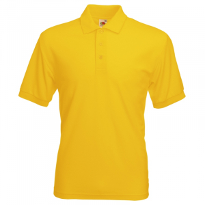 SS11 Polo Shirt Sunflower Yellow Large