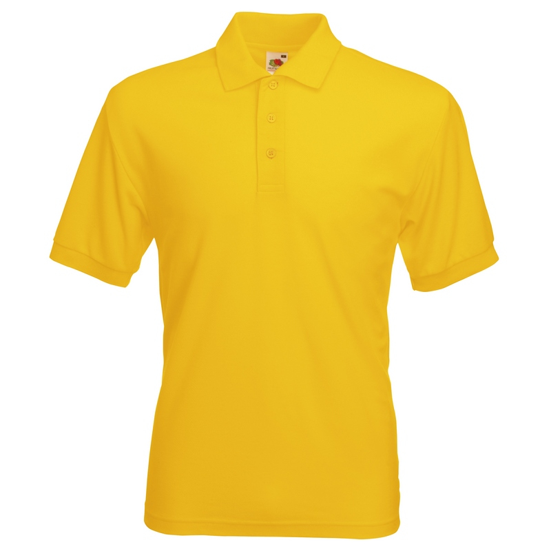 SS11 Polo Shirt Sunflower Yellow Small