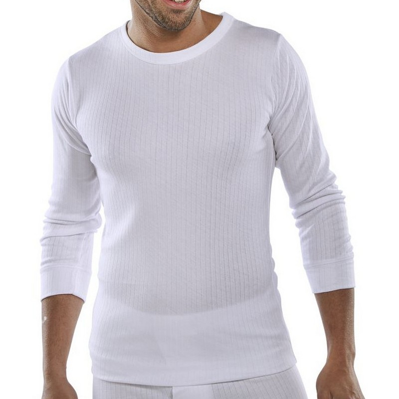 Thermal L/S Undervest 3XL *WHITE*