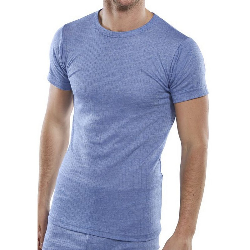 Thermal Undervest Short Sleeved Small