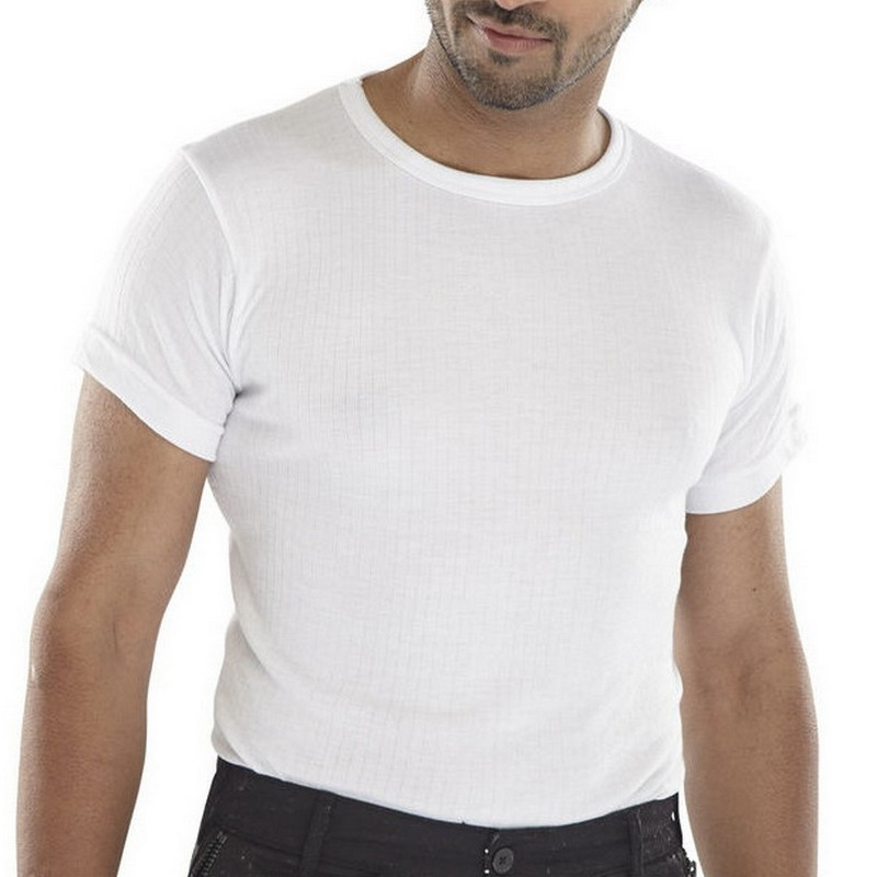 Thermal Undervest S/Sleeved 3XL *WHITE*