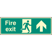 Exit Up Signs