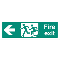 Exit Signs for Disabled