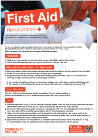 First Aid and Safe Condition