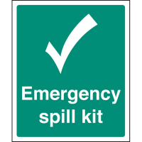 Spill Control Signs